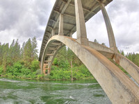 Spokane River Bridge