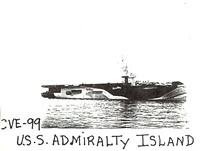USS Admiralty Islands in Camo